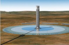 #Enviromission #SolarUpdraft tower, slated to go online in Arizona in 2015.