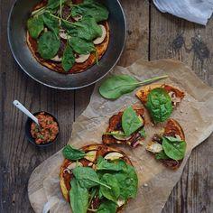 Socca Pizza – Pizza på kikærtebund