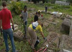 Volunteers help preserve Miami's first African American cemetery | News  - Home  #africanamericanhistory