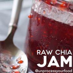 Raw Strawberry Chia Jam