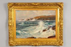 """""""Manana Point,"""" Paul Dougherty, ca. 1900, oil on canvas, 25 x 35"""", private collection."""