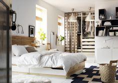 Um quarto com o conforto no lugar.