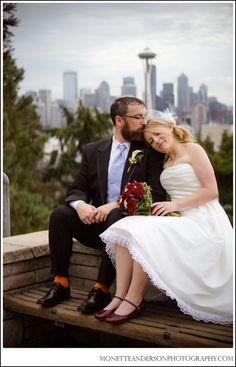 Kerry Park Wedding Photo