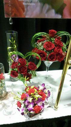 Bridal table decor for your reception! www.bestweddingshowcase.com.