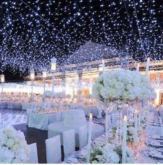 A night under the stars! Perfect wedding idea