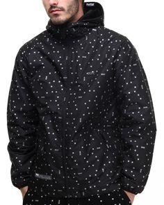 Love this Digi Dot 3M Reflective Jacket by DGK!