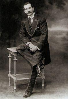 Traditional 1900 Men's Morning Suit, Edwardian era