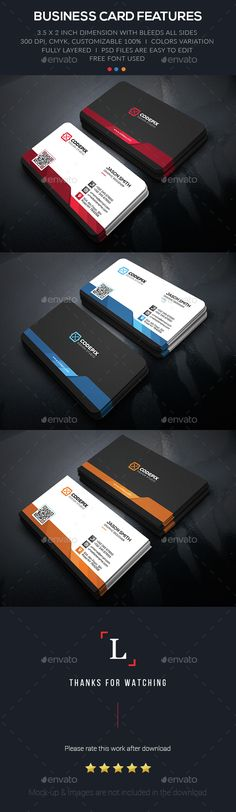 Creative Business Card Template PSD. Download here: http://graphicriver.net/item/creative-business-card/15321342?ref=ksioks