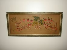 """Victorian Punch Paper Motto SAMPLER - """"Trust in God"""" - Lily of the Valley"""