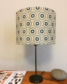 Screen printed and handmade in Birmingham based studio, the 'Safi' design lampshade inspired by Moroccan art and architecture Moroccan Art, Art And Architecture, Birmingham, Screen Printing, Inspired, Studio, Printed, Handmade, Inspiration
