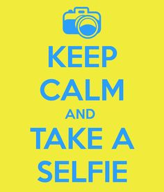...take a selfie