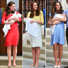 Triple Take! Why Kate Middleton Always Wears Jenny Packham for Her Royal Baby Debuts — People Kate Middleton Outfits, Kate Middleton Style, Kate Middleton Weight, Herzogin Von Cambridge, Jenny Packham Dresses, Princesa Kate Middleton, Prinz Harry, Kate And Meghan, Prince William And Catherine