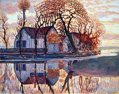 Piet Mondrian: Farm near Duivendrecht