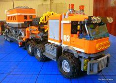 The Brick Castle: A modified LEGO Arctic Artic