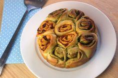 Pestoschnecken / Pesto Pull Apart Bread