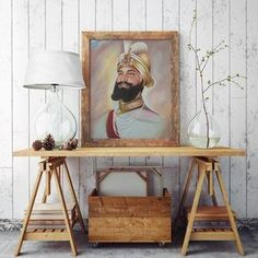 beautiful Guru Gobind Singh Ji inspired artwork prints for sale at www.sikhexpo.com