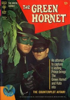 Green Hornet #3  Gold Key Comics  Art by Dan (Space Family Robinson) Spiegle.