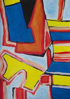 Acrylic on paper x Paintings, Abstract, Paper, Art, Craft Art, Summary, Painting, Kunst, Gcse Art