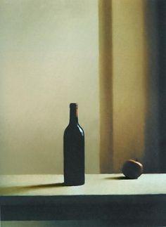 Gerhard Richter | Flasche mit Apfel (1988) | Öl/Leinwand; 82x62 cm