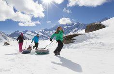 Familien Ski Fun in Saas-Grund, Kreuzboden - Hohsaas