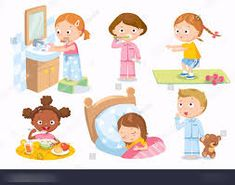 Find Childrens Daily Routine stock images in HD and millions of other royalty-free stock photos, illustrations and vectors in the Shutterstock collection. Thousands of new, high-quality pictures added every day. Educational Activities, Activities For Kids, Daily Routine Planner, Daily Routine Activities, Daily Routines, Vocabulary Exercises, Concept Art Gallery, Free Clipart Images, Clip Art