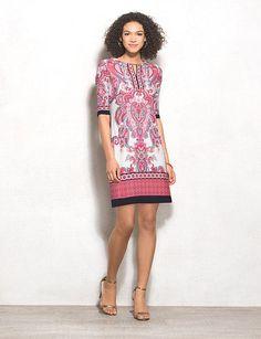 db Signature Petite Camryn Paisley Dress