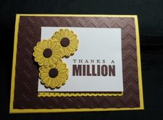 A Million Sunflowers (CASE) by lisacurcio2001 - Cards and Paper Crafts at Splitcoaststampers
