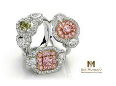 Lleva contigo el glamour de los diamantes.