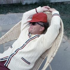 Truman Capote, 'Vogue' magazine, November Photo by Horst P. Lee Radziwill, Rowing Blazers, Preppy Men, Vogue Magazine, The Hamptons, Cool Kids, Style Icons, Knitwear, Glamour