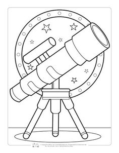 Space Coloring Pages for Kids - Itsy Bitsy Fun Planet Coloring Pages, Space Coloring Pages, Spring Coloring Pages, Coloring Sheets For Kids, Cool Coloring Pages, Flower Coloring Pages, Animal Coloring Pages, Free Printable Coloring Pages, Coloring Books