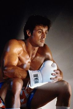Sylvester Stallone  Before all the gross tattoos when he represented The American Dream.