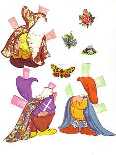 Snow White paper dolls http://www.pinterest.com/lovenestdesign/paper-dolly/