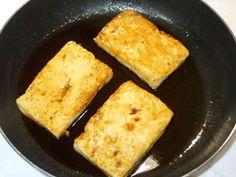 豆腐ステーキ♪豆腐あんかけ♪簡単甘辛豆腐の画像