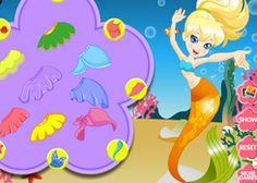 JuegosPolly.com - Juego: Vestir Sirena Polly Pocket - Jugar Gratis Online