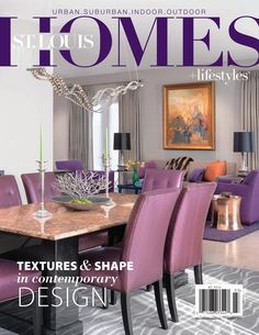 March issue. Textures & shapes in contemporary design.