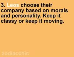 Keep it classy or keep it moving!