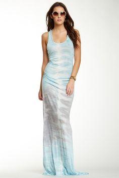 Tie-Dye Racerback Maxi Dress by Young Fabulous & Broke on @HauteLook