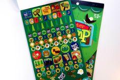 Critter Camp Darice Sticker Book - SB20