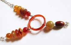 Gorgeous Carnelian Jasper Agate and Sterling by Jewelry24Seven, $44.99
