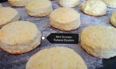 Mini Scones recipe by Ruhana Ebrahim posted on 06 Dec 2017 . Recipe has a rating of by 1 members and the recipe belongs in the Cakes recipes category Mini Scones, Food Categories, Hamburger, Cake Recipes, Bread, Desserts, Heavenly, Tailgate Desserts, Deserts