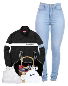 """Untitled #493"" by suzzyboo ❤ liked on Polyvore featuring Vans, ASOS and NIKE"