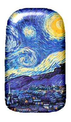 Van Gogh Starry Night Full Nail Fusion Decals - $5.99. http://www.bellechic.com/products/a9aabf1808/van-gogh-starry-night-full-nail-fusion-decals
