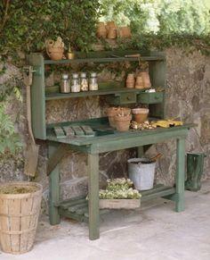best Potting Bench Design