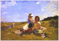 Тужилкина Норма Яковлевна (1928) «Солнечный день»