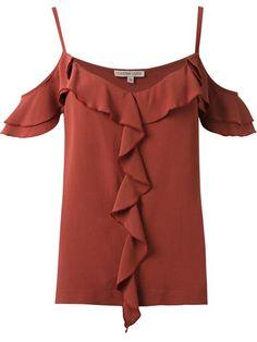 Compre Carina Duek Blusa com babados em Carina Duek from the world's best independent boutiques at farfetch.com. Compre em 400 boutiques em um único endereço.