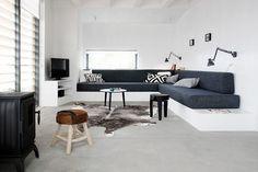 Innebygd sofa