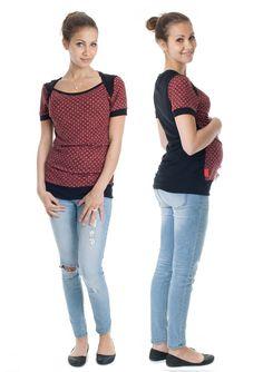 Dieses verspielte Shirt aus Viskosejersey lässt sich einfach kombinieren und…