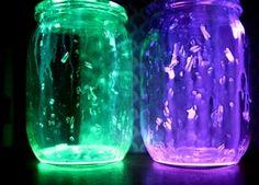 Glow Jars....cute
