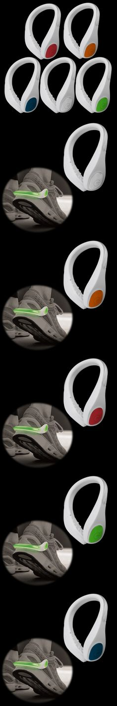 1 pc Outdoor Safety Shoe Clip Running Walking Bike Cycling Bicycle LED Sport Light New Arrival