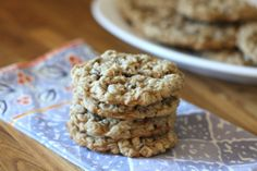 Barefeet In The Kitchen: Soft Chewy Oatmeal Chocolate Chip Cookies